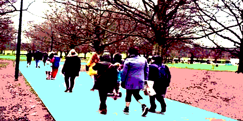 Photo of the First Walk in The Park