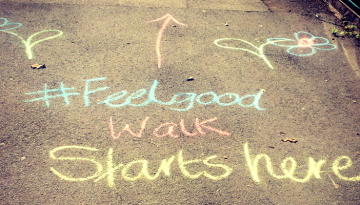Photo Of Feel Good Chalk Drawing