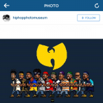 Hip Hop Photo Musuem image from Instagram of the WuTang Clan