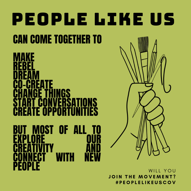 People Like Us Can Come Together